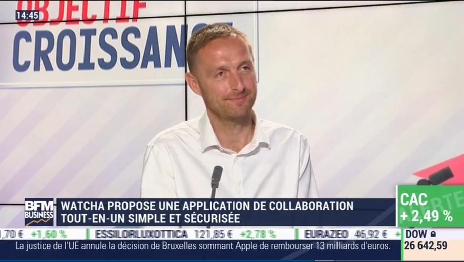 BFM Business : «Interview» Xavier Lecomte, CEO Watcha, sur BFM Business !