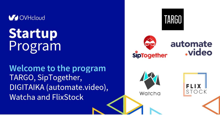 Watcha rejoint le Startup Program de OVHcloud