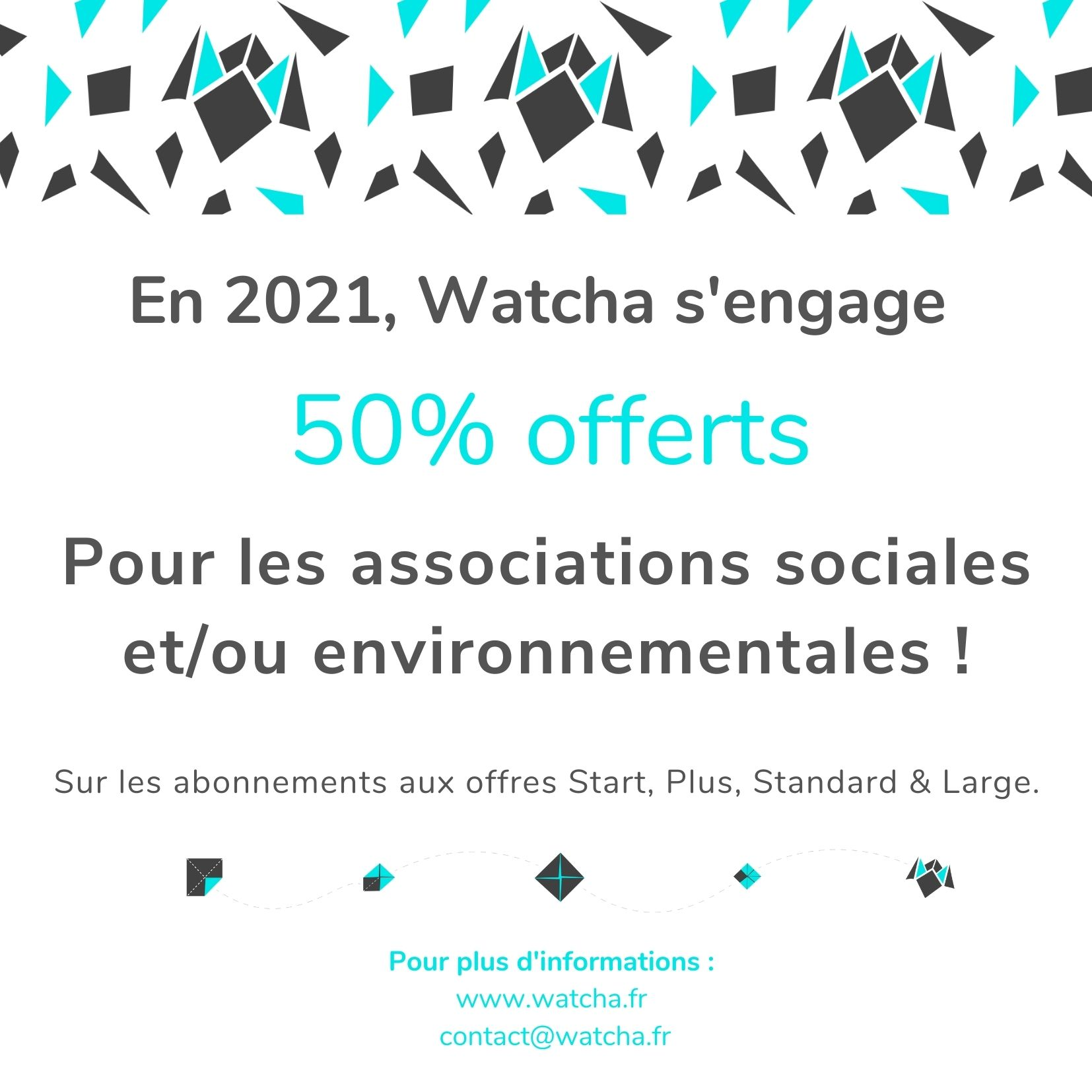 Watcha_Offre promotionnelle associations impact