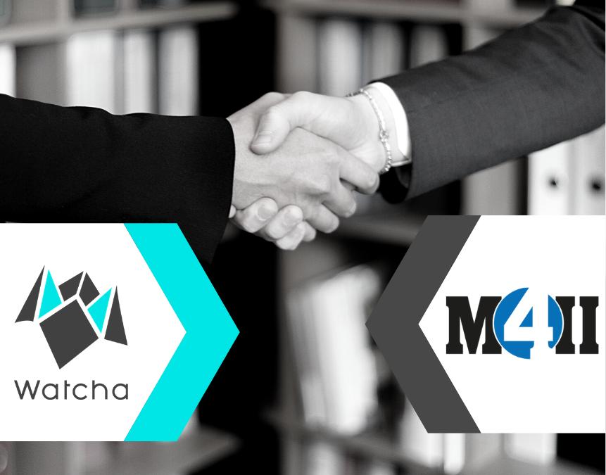 Watcha & M4ii désormais partenaires !
