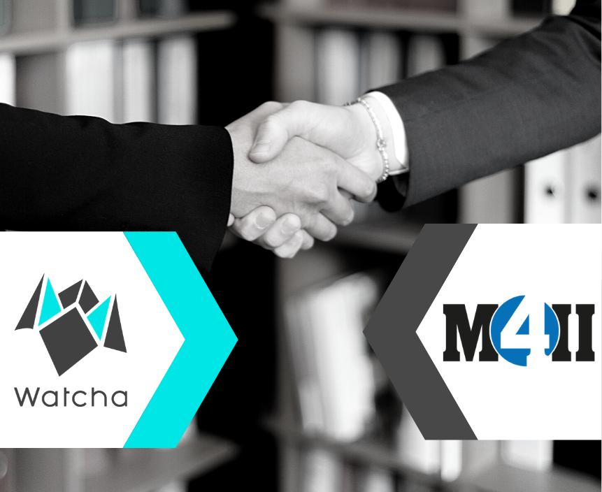 Partenariat Watcha x M4ii
