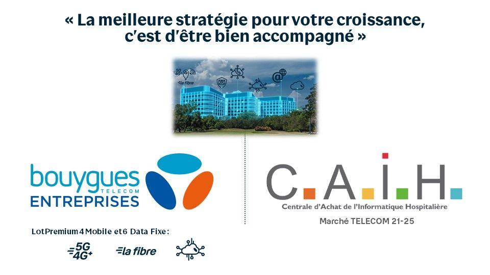 Bouygues Telecom & Watcha partenaires pour accompagner la CAIH